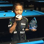 Kyle Yi celebrating a win